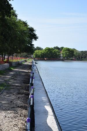 Colonial Lake  renovation