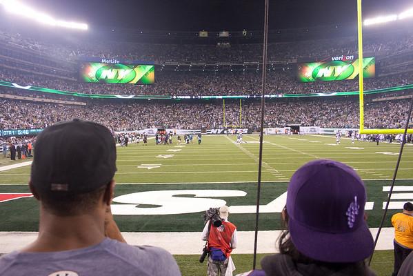 Jets v. Vikings 10-11-2010