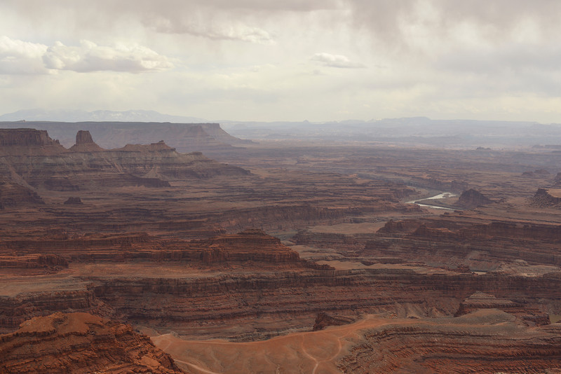 Near Dead Horse Point.  Dead Horse Point State Park