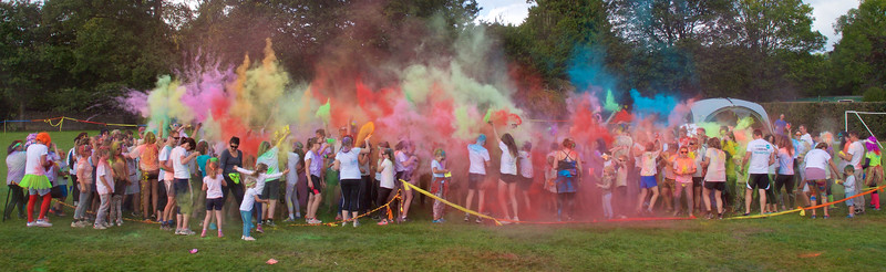 The Colours Explode