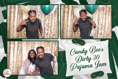 Candy Bee's Dirty 30 Pajama Party