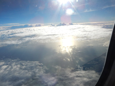 Fantasy landscape amongst the clouds