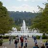 Drumheller Fountain on the University of Washington Campus