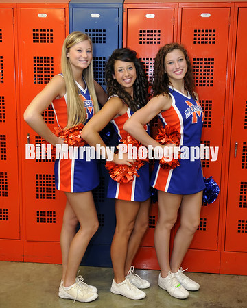 Marshall County High School 2013 Competition Cheerleader Squad Seniors, July 18, 2013.