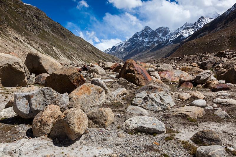Lahaul Valley. Himachal Pradesh, India India
