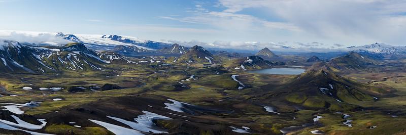 Álftavatn Panorama