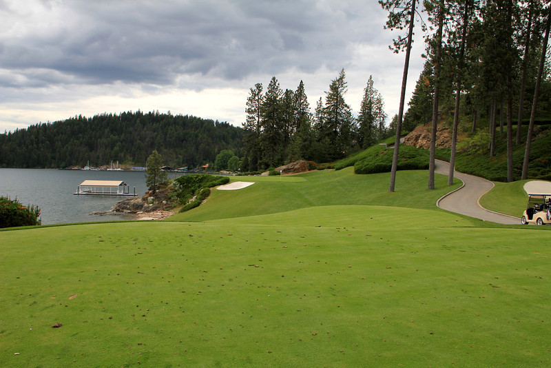 The Couer d'Alene Resort, Couer d'Alene, ID - Hole #3