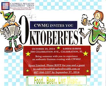 CWMG Oktoberfest Party