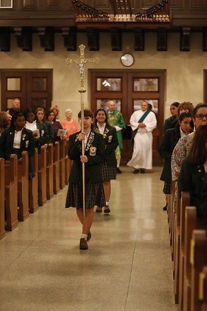 Mass and Pin Ceremony