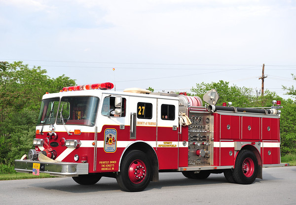 FAIRFAX COUNTY FIRE APPARATUS