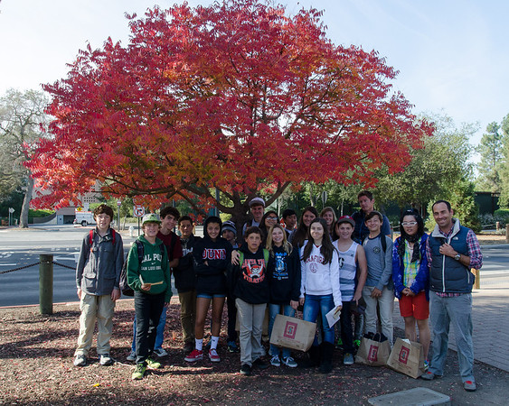 8th Grade Visit to Stanford - Fall 2013