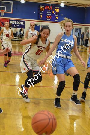 2019-02-10 SHA vs Mercy JV Girls Basketball - Pinkout