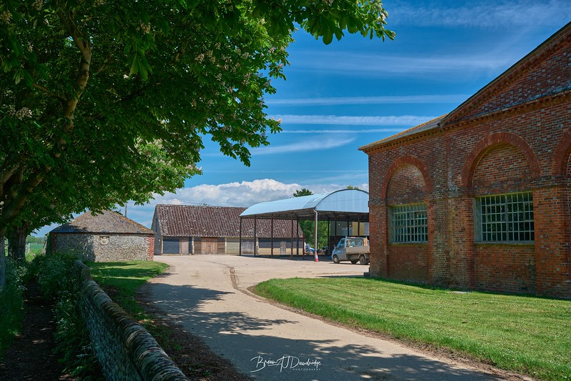 Farm buildings at Itchenor