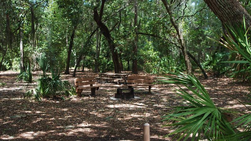 Trimble Park group campsite