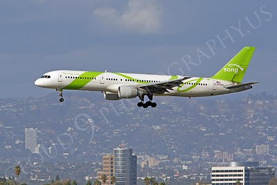 Song Airline Boeing 757 Airliner Pictures