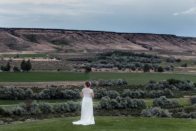 Greg and Brooke Davis Wedding and Reception at the Beautiful Fox Canyon Vineyards in Marsing Idaho