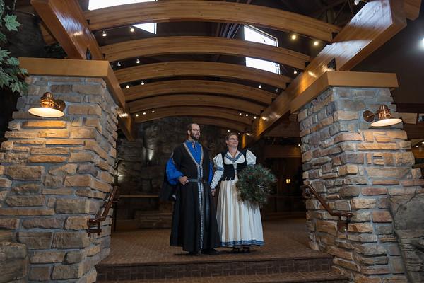 Kewadin Casino Dreammakers Theater Wedding Photography Cathy Garth