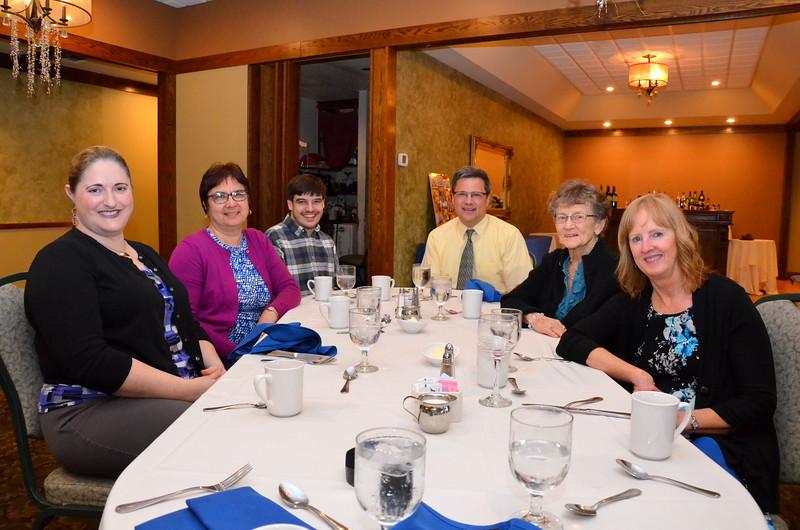 Sarah, Fran, Nate,  Ed, Hilda, Kathy