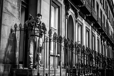 Edinburgh Street Photography