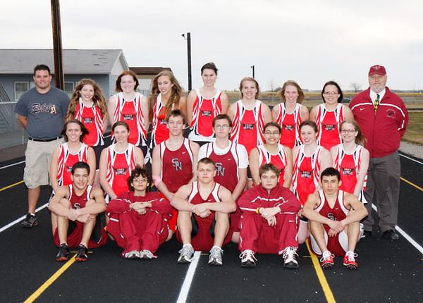 SNHS Track Team 2009