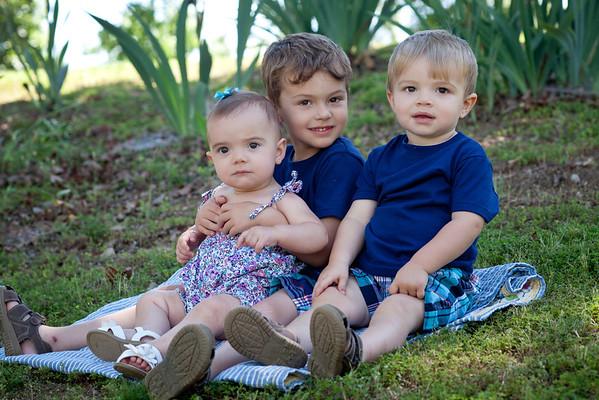 Alston,Eli, and Josie