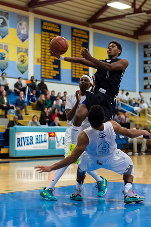 Atholton Varsity Basketball - Atholton vs River Hill - 12/9/15