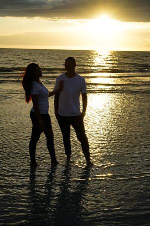 Olivia+Alec Sunset 4.4.18