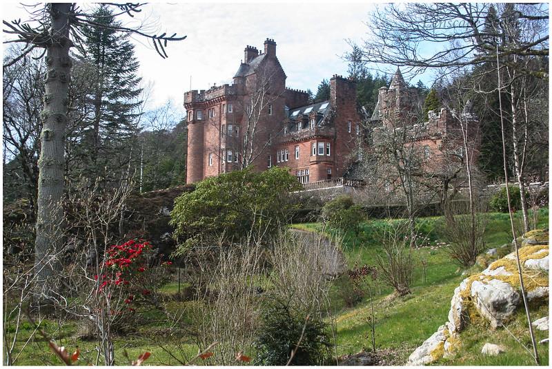 Glenborrodale Castle, Ardnamurchan