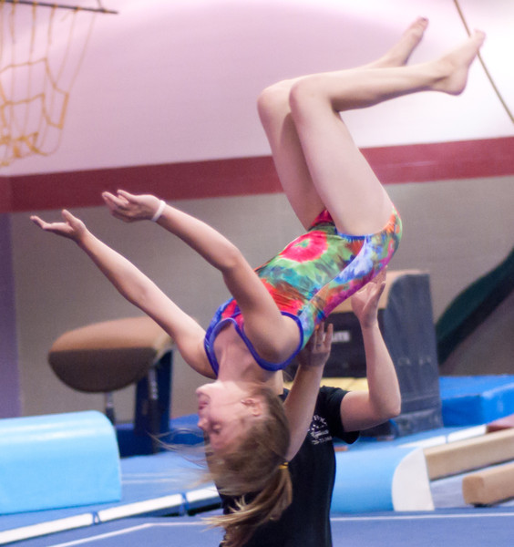 Gymnastics September 2010 Practice Candids