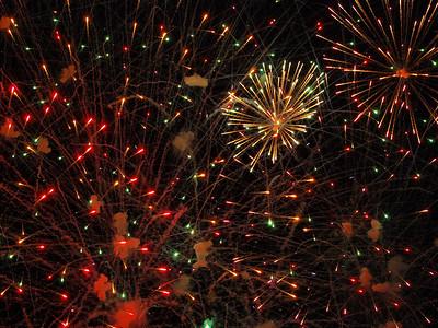 Busch Gardens fireworks