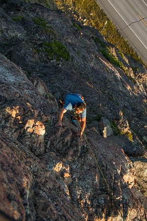 Climbing with Cuauhtemoc 08/22/14