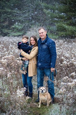 Carli's Winter Family Photos 2018