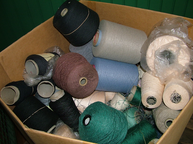 Thread used at Boott Cotton Mill - Lowell, MA
