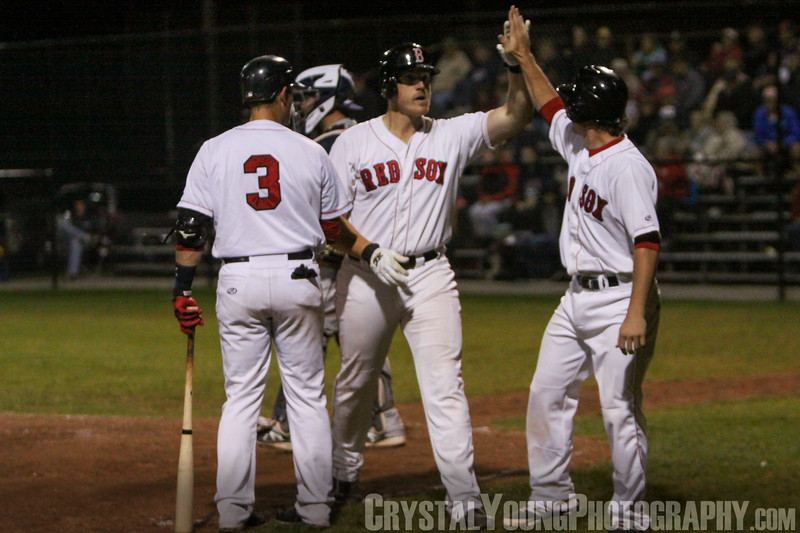 Barrie Baycats at Brantford Red Sox IBL Playoffs, Semifinals Game 2 August 13, 2014