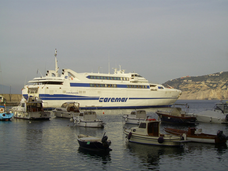2007 - HSC ISOLA DI PROCIDA in Sorrento.