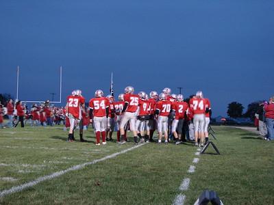 Vanlue Wildcats Football Touchdown Drive (2009-10-02)