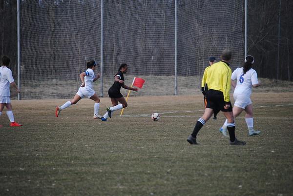 LFA Girls Varsity Soccer vs Lakes High School