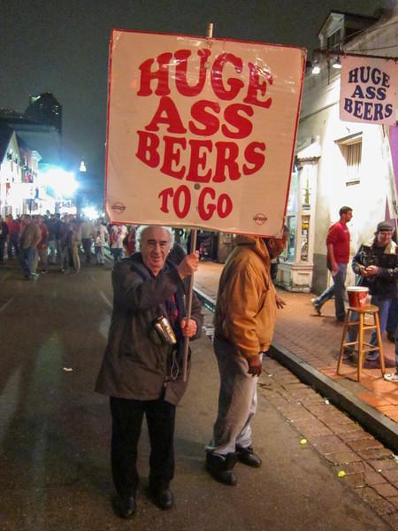 Debauchery on Bourbon Street