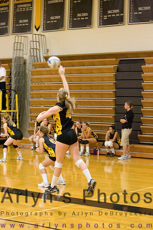 Volleyball vs Mayer Lutheran
