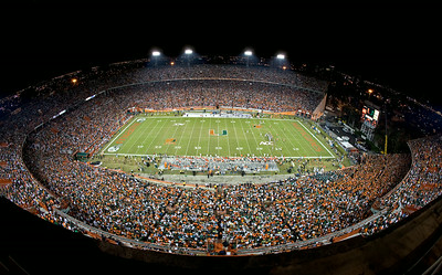 Final UM Game at Miami Orange Bowl