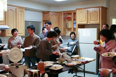 New Year Dinner 2006