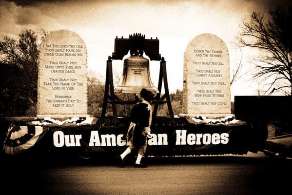 Veteran's day parade- 2010