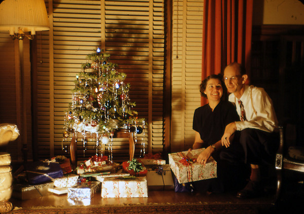 1951 Alice & Bob Freeman - Christmas