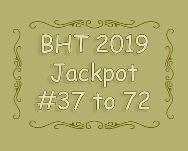 BHT Barrel Racing Jackpot #'s 37 to 72