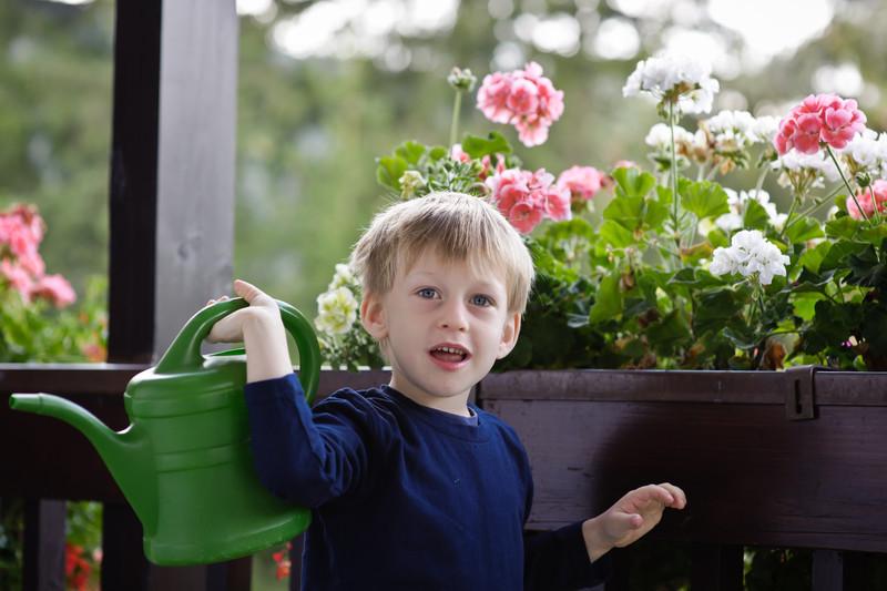 A garden man