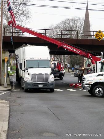 Stuck Truck River Street