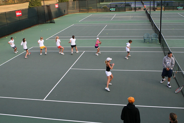 Coosa Country Club Tennis Nov 2007