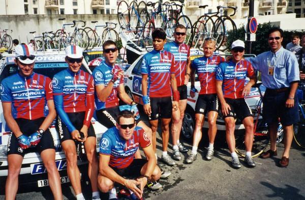 Lance Armstrong & 1995 Tour de France