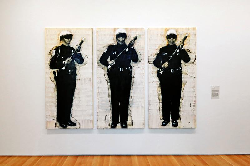 Three Man Patrol, Deborah Oropallo, 1993