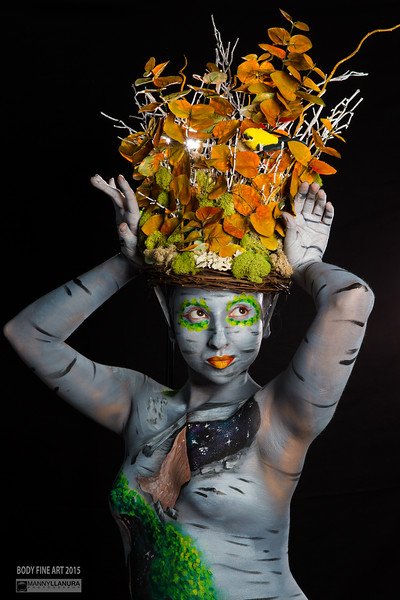 Body Fine Art - Julie Hassett Body Paint